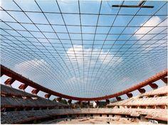 Palazzo dello Sport - Milano - Gilberto e Tommaso Valle su progetto di Moretti, Musmeci e Morandi