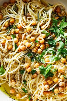 NYT Cooking: Pasta with chickpeas is a substantial, quickly assembled meal, but what's alluring about this version is the undercurrent of rosemary. Vegetarian Recipes, Cooking Recipes, Healthy Recipes, Cooking Pasta, Chickpea Recipes, Cooking 101, Vegetarian Dinners, Cooking Gadgets, Cooking Utensils