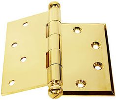 Superbe Half Surface Door Hinges    Also Called Half Mortise Hinges    Have One  Leaf Mortised Into The Door Jamb And The Other Leaf Mounted On The Door  Surface.