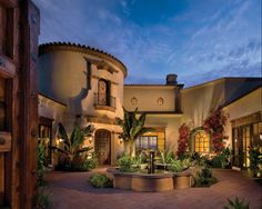 Nice spanish courtyard