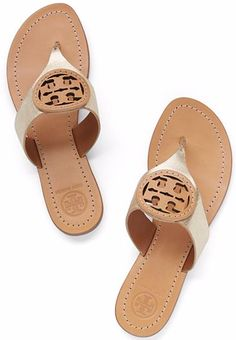Love these Tory Burch thong sandals