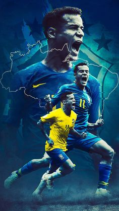 National Team poster series of FIFA World Cup 2018 Football Players Images, Football Pictures, Sports Pictures, Soccer Players, Brazil Football Team, Football Is Life, Football Memes, Soccer Art, Soccer Poster