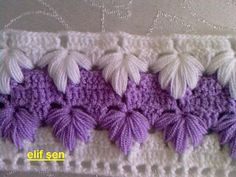 FREE PATTERN ~ SCROLL WAY DOWN ~ @ http://www.knittingparadise.com/t-97041-1.html Beautiful crochet stitch! ALSO CALLED: TURKISH LOOFAH ~ FREE PHOTO TUTORIAL @ http://www.liveinternet.ru/users/tatmel/post190073255/