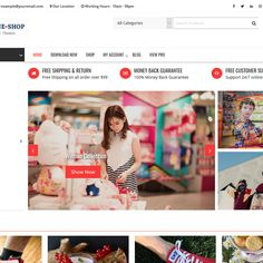 Online Shop is a powerful, dynamic and highly customized WordPress multipurpose e-commerce theme ,with highly customize features and beautiful design. Vintage Diy, Vintage Design, Vintage Shops, Shop House Plans, Shop Plans, Visual Merchandising, Shopping Websites, Online Shopping, Wordpress Theme