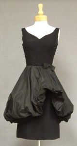 so stinkin' cute dress from the 1950's.  Again, I would not know what to wear it to, but fun to look at.