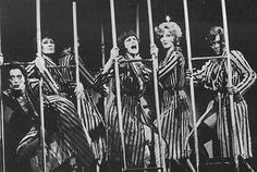 """""""Cell Block Tango"""" from the original 1975 Broadway production of """"Chicago. Chicago Broadway, Chicago Musical, Theater Chicago, Musical Theatre, Chicago Chicago, Chicago Costume, Bob Fosse, Art Grants, Dance Project"""