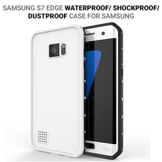 Samsung Dot pro Series Waterproof Case for Galaxy S7 Edge - White