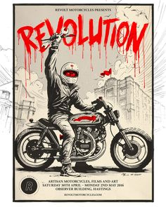 8negro: REVOLUTION Motorcycle and Art Show.
