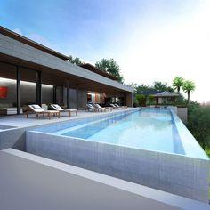 Phuket luxury villa pool