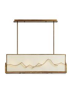 【Lightingest】Zen Chinese style pendant lamp【最灯饰】5月新品禅意新中式山水设计师样板房酒店餐厅书房吊灯