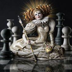 Elizabeth I, the Virgin Queen by Alexia Sinclair.