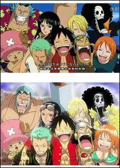 One Piece- Before and After