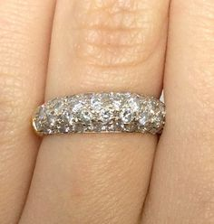 14k Yellow Gold Estate Diamond Ring 0.72ctw  SPECIAL by Appelblom