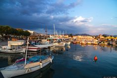 Aegina Island is located in the Saronic Gulf, about 17 nautical miles from Athens. It's home to ancient ruins (including the famous Temple of Aphaia), stunning beaches, charming waterfront villages and harbors.