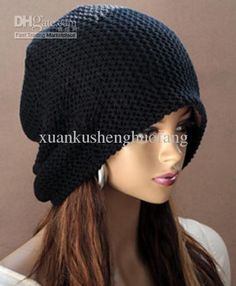 Women Hip-hop fashion loose wool cap Korea Women Chic Baggy Beanie Slouchy Oversized Knit Ski Hat Skull Cap Warm colors MZ2011