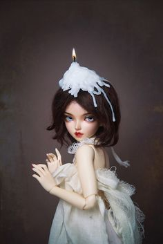 Poupèe de cire by Little Crow ~ on Flickr.