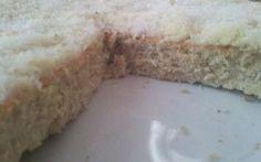 Pan di Spagna al cocco e cioccolato. #pandispagna #torta #dieta #cocco
