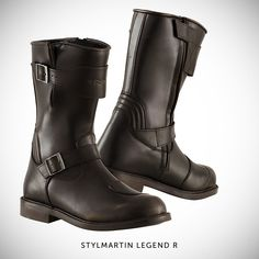 Shop for Stylmartin Legend R Boots - Brown at the The Cafe Racer. Classic style touring boots with waterproof lining. Free UK delivery and returns. Brown Motorcycle Boots, Retro Motorcycle, Motorcycle Style, Motorcycle Outfit, Biker Boots, Biker Style, Motorcycle Accessories, Motorcycle Fashion, Classic Motorcycle
