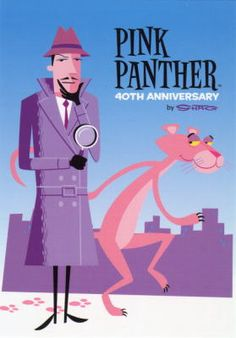 Color Theory Therapy| pinned by Serafini Amelia| The Film Pink Panther 40th Anniversary
