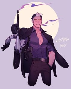 Dark Shiro is honestly so hot. Just look at him. He's a BEAST