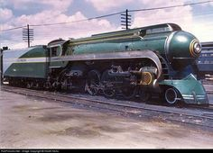 "This 4-6-2 Pacific was assigned to Southern Railway's Washington-Memphis streamliner, ""The Tennessean"" from Lynchburg, Virginia north."