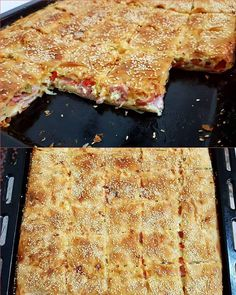 Greek Recipes, Lasagna, Pizza, Cooking Recipes, Bread, Cheese, Cake, Ethnic Recipes, Savoury Pies