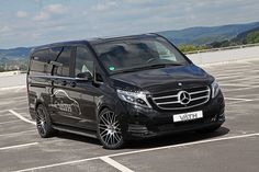 German tuner VATH has decided to spice up the Mercedes-Benz V-Class by developing a minor aftermarket package. Mercedes Benz Vito, Mercedes Van, Top Gear, Commercial Vehicle, Town And Country, Vehicles, Mini Vans, Motorcycles, Truck
