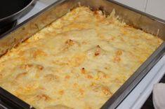 Det var dette med fantasien på lavkarbo da.. I dag fant jeg på en rett med noen av mine yndlingsi... Lchf, Macaroni And Cheese, Dishes, Ethnic Recipes, Mat, Food, Chicken, Blogging, Mac And Cheese