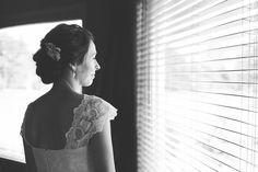 Black and White Bridal Portrait | Photografia Classic Weddings