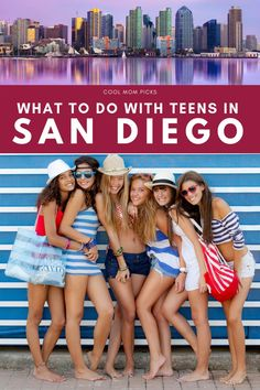What to do in San Diego with Teens: Tips for a cool getaway | Cool Mom Picks | Teens can be picky, and I don't have the easiest teenagers myself. So on a recent long weekend getaway in San Diego, I planned out our days carefully with them in mind and hooray, it worked! Click to get all of the details for a fun family San Diego getaway with teens #travelwithkids #travelwithteens #sandiego
