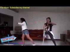 one leg amputee girl dancing with crutch: one leg amputee girl dancing with crutch Sexy Amputee women Exercising Beautiful Stump Amputee…