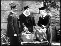 El gordo y el flaco: Estudiantes en oxford.(1940)