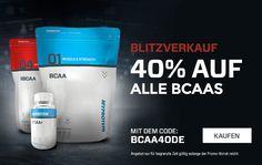#BCAA Blitzverkauf: 40% #Rabatt auf BCAA-Produkte bei Myprotein.com  Zum Angebot:http://goo.gl/2gp3eb