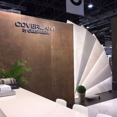 Our booth at #Euroshop #Düsseldorf, the number one #retail trade fair where we'll show our full range of solutions in #design and #architecture for retail #business.  #coverlam #ceramics #tiles #design #architecture