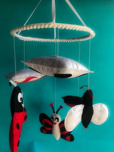 Custom made crib mobile nursery for for toddlers with Black , white & red combination. Creation Homes, Cot Mobile, Facebook Sign Up, Cribs, Toddlers, Black White, Nursery, Outdoor Decor, Red
