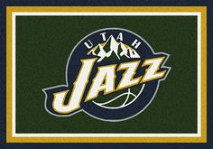 Utah Jazz area rugs. Give your kid's rooms a special theme with NBA rugs that display your favorite team's logo, mascots and insignias. These area rugs are not just for kids though. They have been built with heavy duty materials from Milliken to withstand constant traffic. All area rugs in the TeamMats collection are made of 100% nylon and are washable for easy cleaning. Get yours now from Floors To Go and pay with credit card or through your PayPal account.