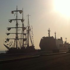 Indonesian Navy seal tall ship, KRI Dewa Ruci
