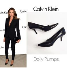 """Calvin Klein Dolly Classic Pump You will love this classic pointed-toe pump by Calvin Klein. From jeans to LBD this shoe goes from day to night. Black leather, manmade sole and approx 3"""" heel. EUC Calvin Klein Shoes Heels"""