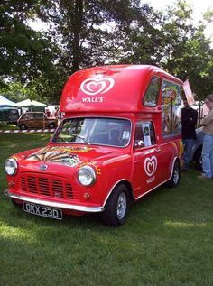 Mini ice-cream van