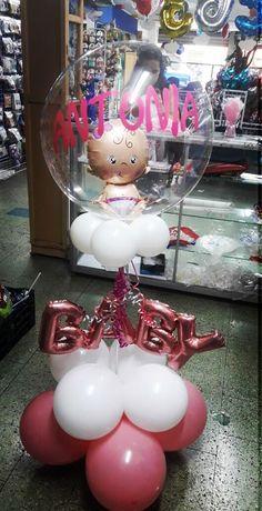 Baby Shower Niño Manualidades, Decoracion Baby Shower Niña, Baby Shawer, Pink Candy, Balloon Decorations, Diy And Crafts, Balloons, Birthdays, Girly
