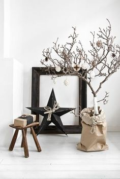 all natural scandinavian decor