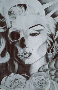Marilyn Monroe by on DeviantArt