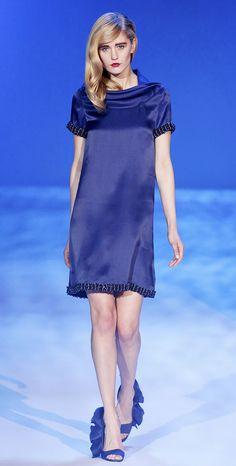 FALL 2010 READY-TO-WEAR // Christian Siriano // Model Cassandra Smith