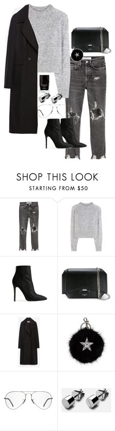 """""""Untitled #334"""" by meriosity ❤ liked on Polyvore featuring Wood Wood, Baldwin, Givenchy, Zara, STELLA McCARTNEY, Ray-Ban and Butter London"""