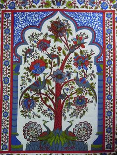 Tree of life tapestry Tree of life wall by jaipurihandicraft, $21.99