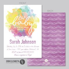 15 Best Baby Shower Invitations Images On Pinterest Baby Shower