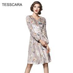 Women-Autumn-Winter-Dress-Shirt-Female-Elegant-Office-Dresses-Retro-Print-Robe-Femme-Vestidos-Spring-font.jpg (800×800)