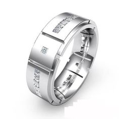 Men's Platinum D shape flat shape Court shape and Diamond Wedding Rings to buy from NEWBURYSONLINE