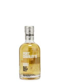 Port Charlotte Islay Single Malt Whisky Miniature 200ml - Food & Wine