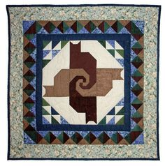 Twisted Tails Mystery Quilt - Pattern in several parts beginning here - http://www.quiltzine.com/tales1.html